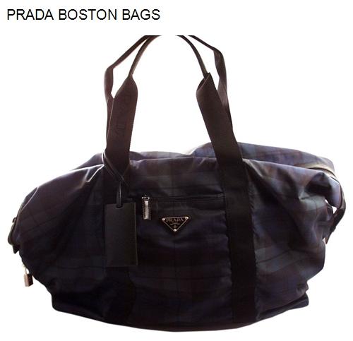 Prada Boston Bags