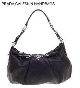 Prada Calfskin Handbags