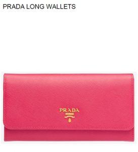 Prada Long Wallets